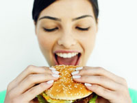 Классический американский гамбургер
